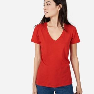 Everlane Cotton V-Neck Tee